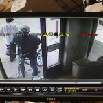 Security footage captures a  man on a bicycle who may have been the shooter in the Graham murder.