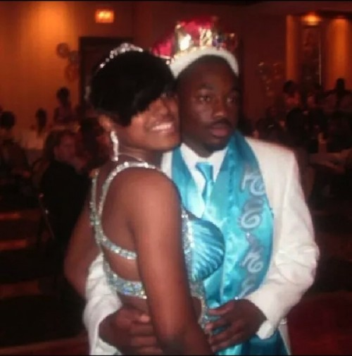 Shakina McDowell and Terrance McNeal at prom / Submitted photo