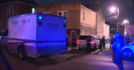 Scene where 16-year-old was shot / Photo from NVP News Video