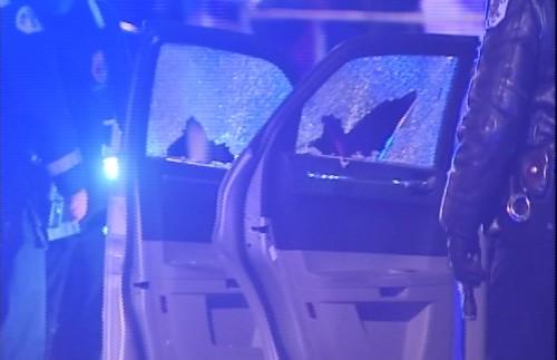 Scene where two men were fatally in Pilsen / Photo from NVP