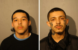 Javier Garza (L) and Damien Garza (R) / Photos from Chicago Police