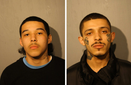 Javier Garza (L) and Damien Garza (R) / Photo from Chicago Police
