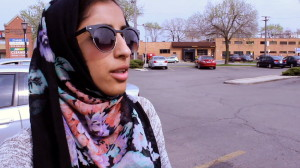 Being so close to Lincolnwood — and the suburb's police — is one reason Nahla Yafai thinks her North Side neighborhood that's part of Forest Glen is safe. | Emily Gray Brosious / Sun-Times