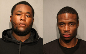 Lawrence Brown (left) and Anthony Jackson | Chicago Police
