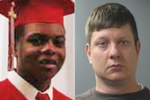 Laquan McDonald (left) and Jason Van Dyke