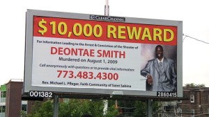 A $10,000 reward has been offered for information in 2009 slaying of Deontae Smith, but six years later, the murder remains unsolved.