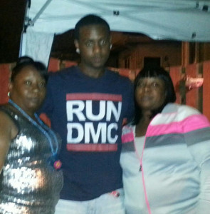 His mother, Demetria Hudson (left), and his aunt, Shantesia Hudson, say Ronald Clarke was not a member of a gang, though some of his longtime friends were. | photo provided