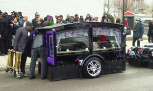 The church was packed for the funeral of Martell Howard. | photo provided