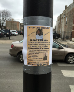 Reward posters have been put up around the neighborhood and on social media. | photo provided