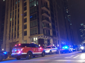 Darrin Joss was shot to death while using the gym in a River West apartment building Wednesday night. | Sam Charles/Sun-Times Wire