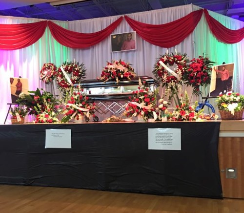 About 3,000 people attended Copelands funeral in March