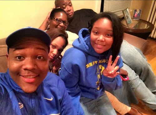 """Courtney Copeland, 22, was described as """"the glue that kept everyone together."""" He was shot March 4 and his mother, Shapearl Wells is working endlessly to find his killer. 