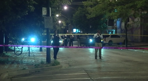Chicago Police investigate the shooting of a 15-year-old boy Tuesday night in the 2900 block of East 89th Street. | Network Video Productions
