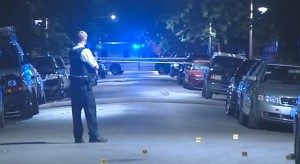 Police investigate after a fatal West Side shooting early Sunday. | Network Video Productions