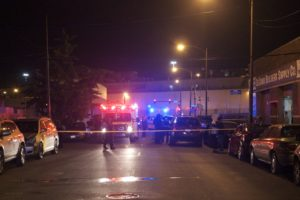 One man was killed and another wounded in a shooting in the 700 block of North California Avenue early Saturday. | Matthew Hendrickson/Chicago Sun-Times