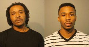 Kenyon Jones, left, and Paris Jones   Chicago Police