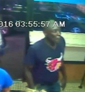 Surveillance footage of a man suspected in an Old Town neighborhood shooting Sept. 18. | Chicago Police