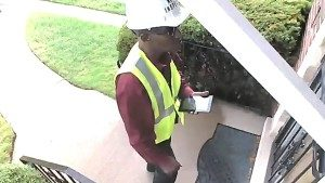 Surveillance picture of the man who is believed to have killed a Morgan Park man while dressed as a meter inspector. | Chicago Police