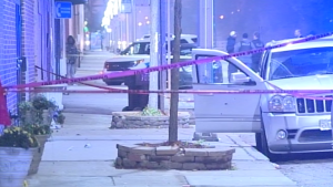 Chicago Police investigate in the 3400 block of West Harrison, where one man was killed and another was wounded in a shooting early Sunday | NVP News