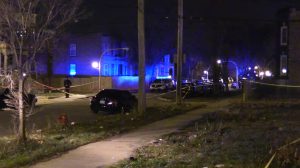 Chicago Police investigate a shooting Tuesday night in the 3200 block of West Lexington. | NVP News