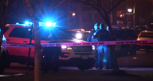 Police investigate a homicide in the 5000 block of West Maypole early Monday. | NVP News