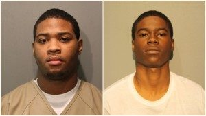Terrance Hogans (left) and Khalil Powell | Cook County Sheriff's Dept.