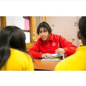 Xavier Roy worked with students in CIty Year's AmeriCorps program prior to leaving for college. He had recently come back from college to return to teaching and mentoring youth. |  City Year