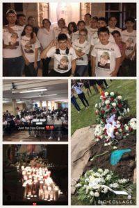 Julio Cesar Garcia-Lara's funeral | Marissa Estrada