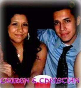 Lauren and Christian Pichardo