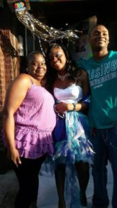 Crawford alongside family   Kaya Crawford