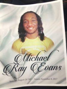 Michael Evans memorial|Facebook