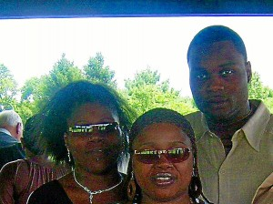 Tracy Crews, right, with family members. Submitted photo