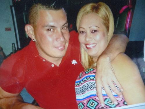 Carlos Leiva-Oviedo and his girlfriend Lesvia Liliana Caballero (submitted photo)
