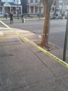 A man was murdered near the intersection of Hudson Street and Hamilton Avenue. (submitted photo)