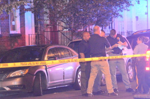Police investigate the capital city's second homicide in less than a week. (Penny Ray - Trentonian)