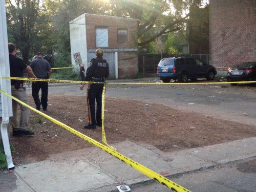Sulaiman Abdur-Rahman — The Trentonian Police investigate the homicide scene where a Trenton man was shot and killed Saturday, Sept. 16, 2017, off Daymond Street near Bridge Street in South Trenton.