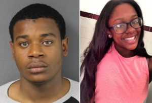 Peter Charles Jr. (left) has been convicted of murdering 16-year-old Ciony Kirkman (right) in a brazen April 2016 Trenton shooting. (SUBMITTED PHOTOS)