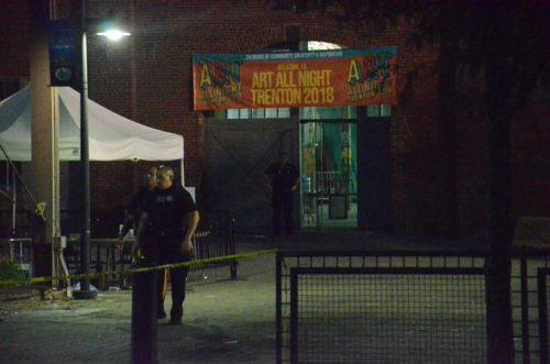 Multiple people were shot at the annual Art All Night celebration in Trenton (Penny Ray - Trentonian)