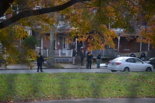 A man was shot and killed Wednesday in the 300 block of Spring Street (Penny Ray - Trentonian)